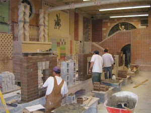 Bricklayer apprentice training classes at Red River College have been filled at all levels since 2009. Photo courtesy Euro-Can Enterprises