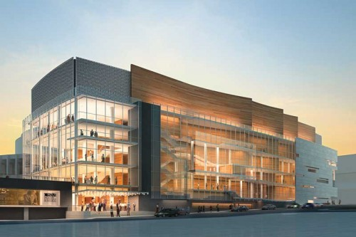 La Maison Symphonique is the new home for the Montréal Symphony Orchestra (OSM). Image courtesy Cicada Design