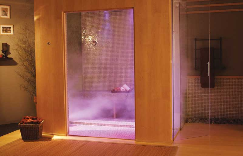 Steam shower systems Construction Canada