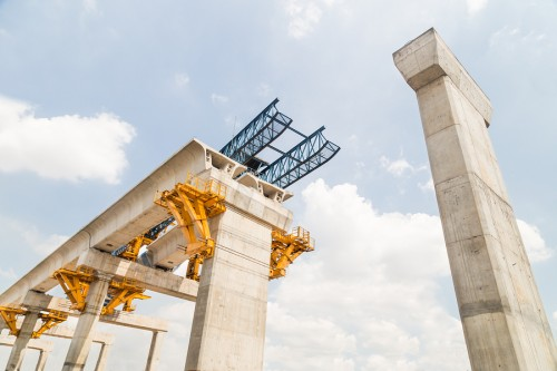 The Royal Institution of Chartered Surveyors (RICS) released the results of a fourth quarter survey that found respondents with different views on the infrastructure sector.  Photo © Bigstock.com/ThamKC