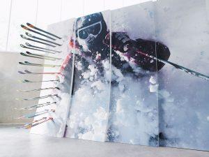 Formica Envision Ski Wall