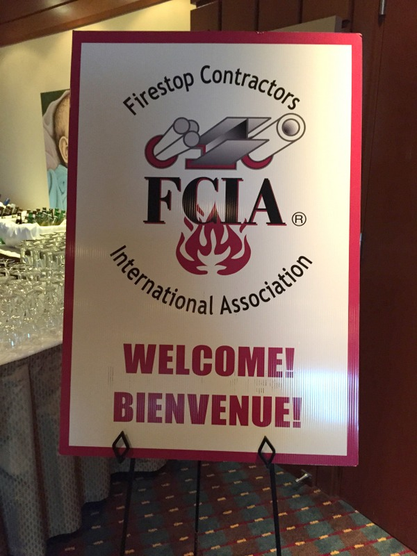 The two-day event in Edmonton promotes knowledge and awareness of the importance of life safety in fire protection. Photo courtesy of Lindsey Donley, FCIA's associate director of marketing.