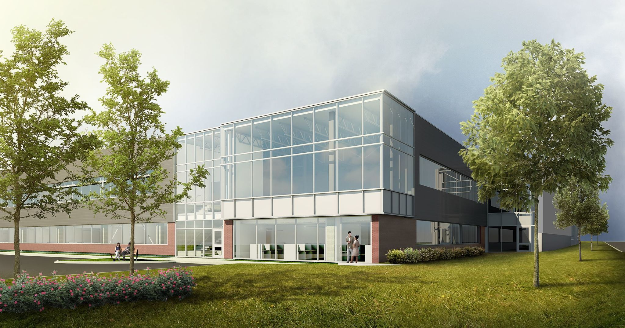 The Fraunhofer Project Centre for Biomedical Engineering & Advanced Manufacturing (BEAM) will develop novel cell manufacturing systems related to cell therapy and immunology. Photo courtesy of Diamond Schmitt Architects.