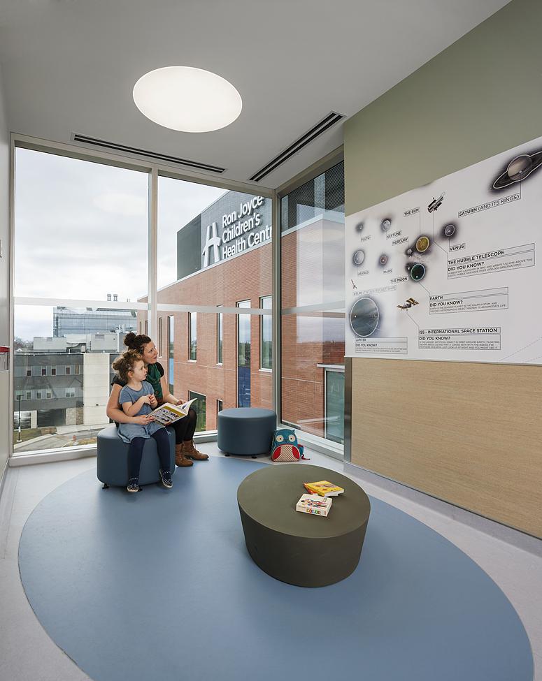 Hamilton children 39 s hospital earns leed gold for Indoor environmental quality design