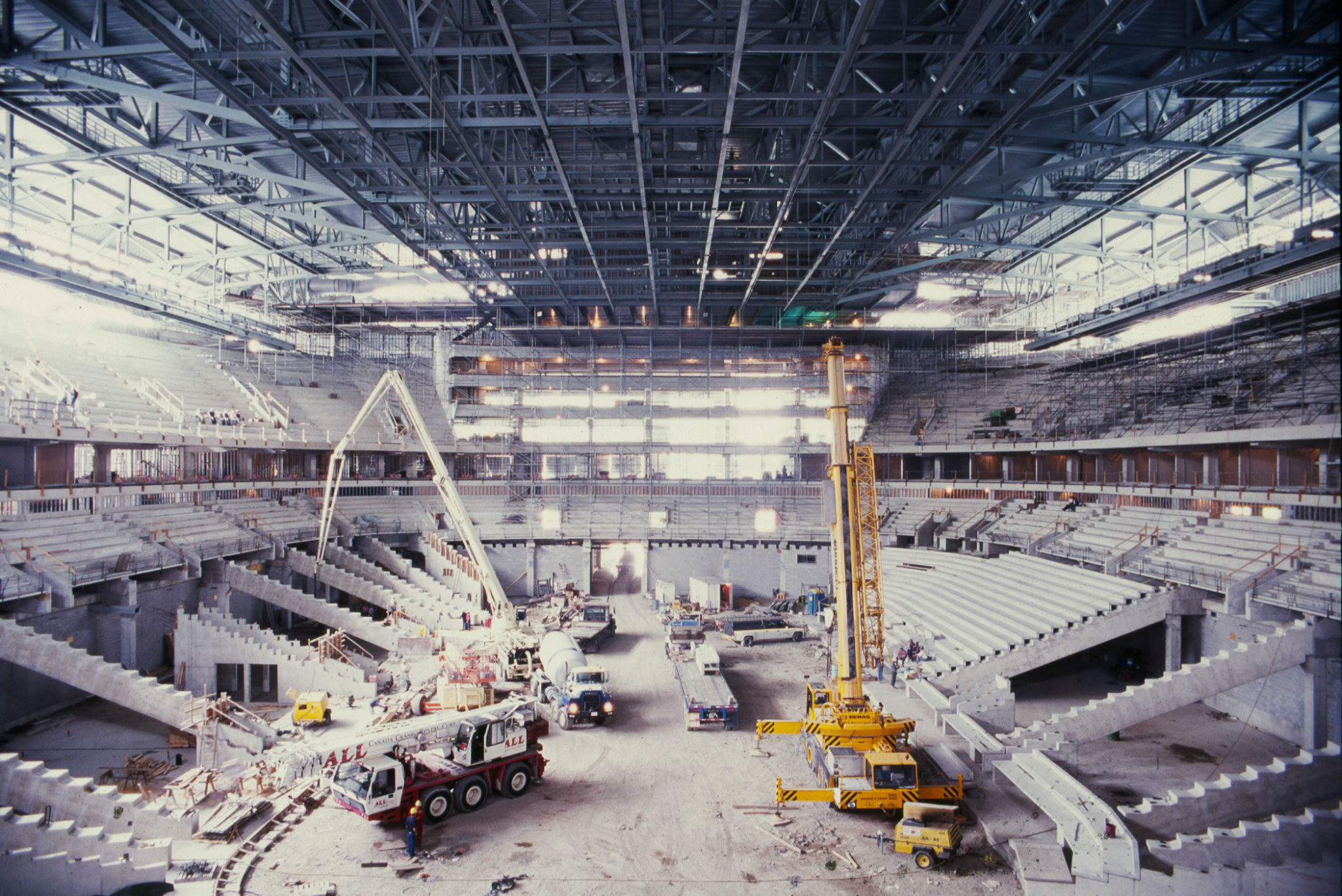 Reflecting on the construction of the ACC - Construction Canada