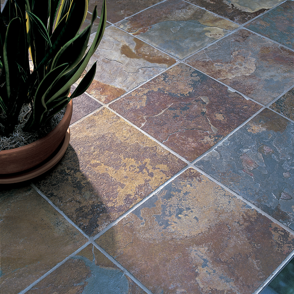 Natural Slate Tile : The benefits of natural stone flooring construction canada
