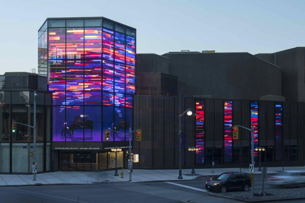 Ottawa unveiling North America's largest transparent LED screen
