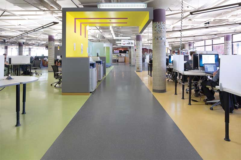 Rubber Flooring In High Traffic Areas