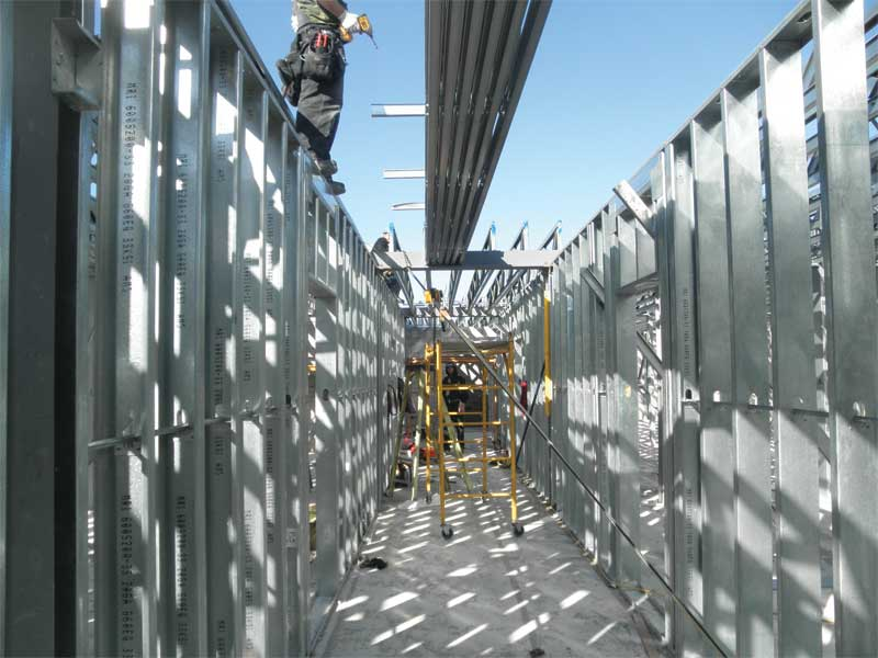 maximizing the benefits of steel framing construction canada