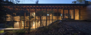 Designed by Bohlin Cywinski Jackson, the Bear Stand home in Gooderham, Ont., is the recipient of the 2018 Housing Award by the American Institute of Architects. Photo © NicLehoux