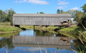 These iconic structures in New Brunswick are being lost to flooding, maintenance issues, and lack of expert attention. It is one of the structures on the National Trust for Canada's 2018 Top 10 Endangered Places List. Photo © Ray Boucher