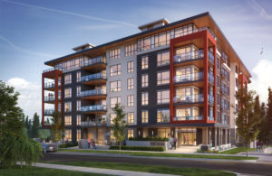 Virtuoso, a six-storey, mass timber development on The University of British Columbia campus, has been officially completed. Photo courtesy Adera Development Corporation