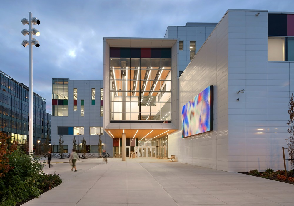 Vancouver airport emily carr university win lighting awards