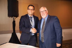 Kenilworth group publisher Erik Tolles and CSC president David Boyle, CTR, officially signed a new deal, which will see Kenilworth publish Construction Canada well into the foreseeable future.