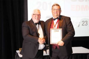 Peter Semchuk, FCSC, RSW, CCCA, was also a Life Award recipient.