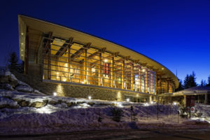 A case study on the Squamish Lil'Wat Cultural Centre at Squamish and Lil'Wat First Nations, British Columbia, is part of a RAIC report on best practices in Architectural co-design and building with First Nations. Photo © Formline Architecture