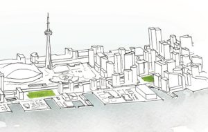 Waterfront Toronto and Sidewalk Labs have signed an agreement that sets the stage for the development of Toronto's Quayside site. Image courtesy Waterfront Toronto