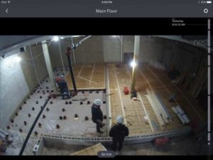 Installation of rubber pucks and formwork for the floating floors. Photos courtesy Lynx Music