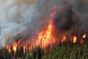 Unprecedented wildfires in Western Canada, likely influenced by climate change, are bringing home the urgency of reducing greenhouse gases (GHG) to many British Columbia jurisdictions. Photo courtesy B.C. Wildfire Service