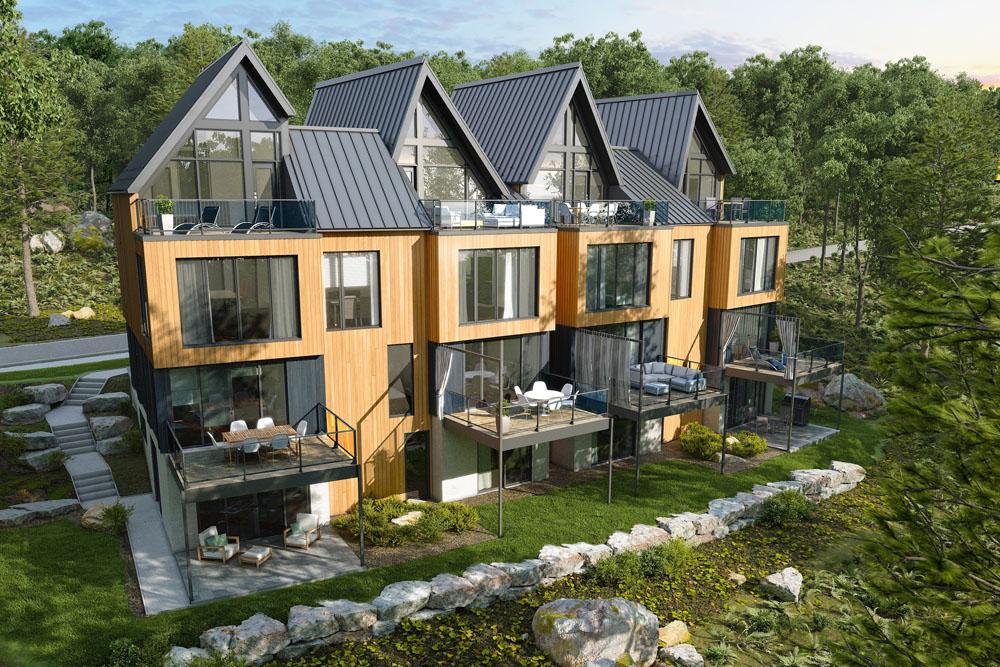 Qubec Condominium Targets Leed Certification Construction Canada