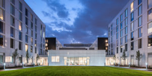 The Quad, a student housing project at York University, Ont., won the National Award for Innovation and Excellence in Public-Private Partnerships from The Canadian Council for Public-Private Partnerships (CCPPP). Photo courtesy CCPPP