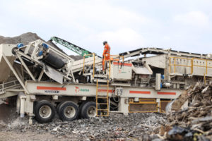 According to a new study by the Toronto and Area Road Builders Association (TARBA), many municipalities in Ontario dump asphalt and concrete in landfills instead of recycling these materials. Photo courtesy TARBA