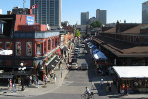A report by Architects DCA calls for a pedestrian-friendly ByWard Market in Ottawa. Photo courtesy Wikimedia Commons