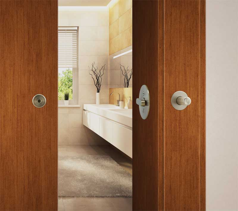 How To Install Locks On Barn Style Doors Page 2 Of 3