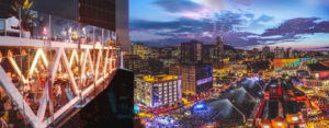 Preliminary renderings of the $700 million Maestria project in Montréal. Images courtesy CNW Group/Fonds immobilier de solidarité FTQ