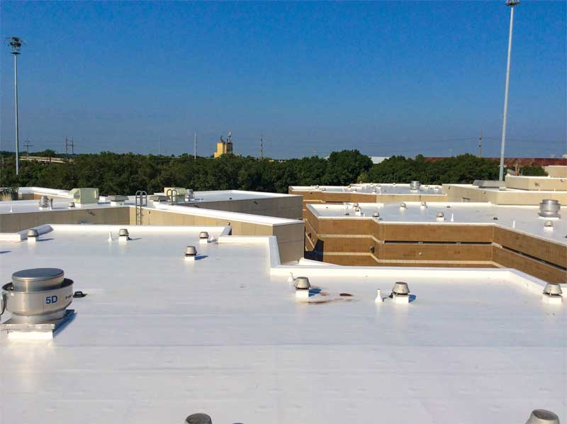 Thermoplastic Membranes Changing The Low Slope Roofing