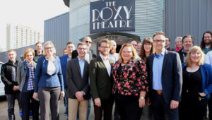 The Roxy Theatre project, Edmonton, receives $2.5 million from the city. Photo courtesy Government of Alberta