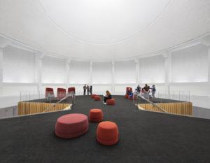 Conversion du Planétarium Dow de l'ÉTS, designed by Menkès Shooner Dagenais Letourneaux architects, won the project of the year accolade at the 12th Grands Prix Du Design award. Photo © Stephane Brügger