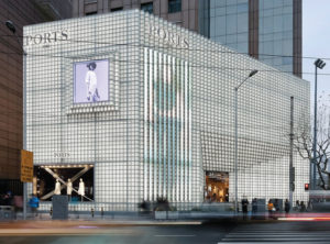 Irene Gardpoit and Eiri Ota of UUfie, Toronto, have won the 2019 Emerging Voices award by the Architectural League of New York. They designed this Chinese store of fashion retailer Ports. Photo courtesy Architectural League of New York