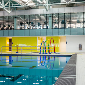 The Zatzman Sportsplex in Dartmouth, N.S., opens after a $28-million renovation. Photo © Julian Parkinson