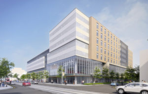 A rendering of the Centre for Addiction and Mental Health's (CAMH's) Crisis and Critical Care Building in Toronto. Photo courtesy CAMH
