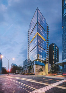 Downtown Montréal's new condo project, Enticy, will combine the old and new to match its surroundings. Photo courtesy Enticy