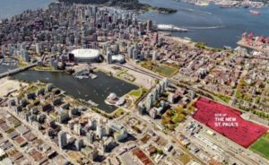 British Columbia has approved the $1.9-billion business plan for a new St. Paul's Hospital in Vancouver. Image courtesy Providence Health Care