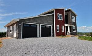 New Brunswick's first net-zero insulated concrete form (ICF) home.