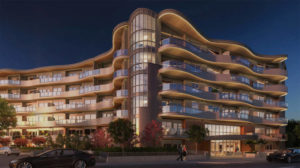 Rendering of the six-storey Legacy on Park Avenue project in Langley, B.C. Image courtesy MDM Construction