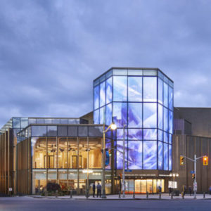 Diamond Schmitt Architects wins the Civic Trust Award for the National Arts Centre rejuvenation project in Ottawa. Photo courtesy Diamond Schmitt Architects
