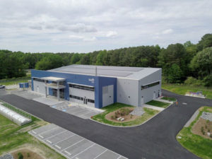 The Sustainable Water Initiative for Tomorrow (SWIFT) water treatment facility in Virginia, United States, includes channel frame doors manufactured by the BILCO Company. The doors prevent water and other liquids from entering the access opening. Photos courtesy SWIFT