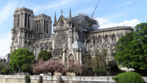 In an open letter, experts urge the French President Emmanuel Macron to not rush the Notre Dame restoration project. Photo courtesy Wikimedia Commons