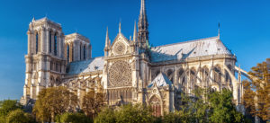 French Senators approve a bill to restore the Notre Dame Cathedral in Paris to exactly how it was before the fire. Photo © www.bigstockphoto.com