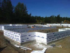 Since moisture absorption negatively impacts an insulation's thermal performance (R-value), it is important to consider moisture performance when selecting one, especially for high moisture conditions, such as on buried foundation walls.