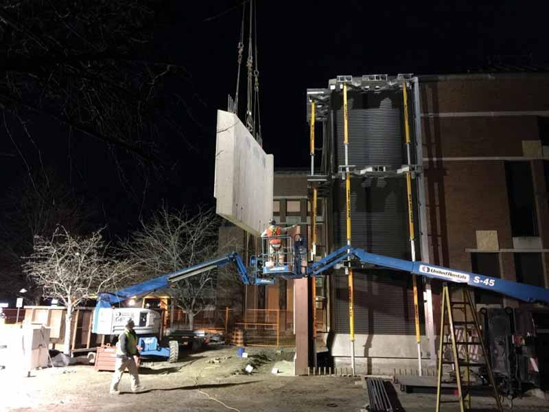 Seismic Retrofit Of Historic Courthouse With Precast