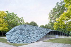 Serpentine Pavilion 2019, designed by architect Junya Ishigami, in London, United Kingdom. Photo © Junya Ishigami + Associates and Iwan Baan