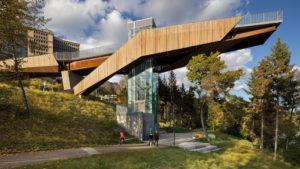 The Edmonton Funicular project wins the 2019 International Architecture Award. Photo courtesy Tom Arban Photography