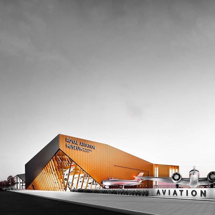 Winnipeg aviation museum to get new building - Construction