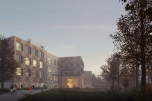 The Toronto and Region Conservation Authority (TRCA) will be getting a new timber office building. Image courtesy Bucholz McEvoy Architects