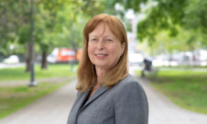 Birgit Siber achieves the Lifetime Achievement Award from Sustainable Buildings Canada (SBC). Photo courtesy Jim Ryce